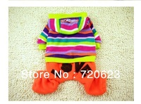 Free Shipping 2013 New outfit dream LOVE four foot Dog Pet Clothing Dog Clothes Dog Coat