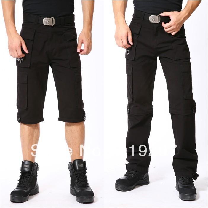 Black Cargo Pants For Men Black Military Cargo Pants