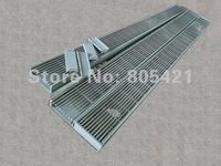 2 X 800mm Linear drains and 3 x small square drains