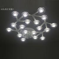 Brief led bedroom ceiling light pendant light restaurant lamp energy saving pendant light wall lamp