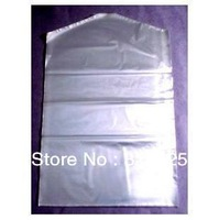Transparent plastic 90pcs/lots Women's clothes cover bag ,Overcoat or Skirt dust proof bag, clothes cover,Free shipping