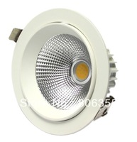 WHOLE SALES!!!  30PCS 20W COB ROTATED DOWN LIGHT,  HIGH QUALITY, , FREE SHIPPING