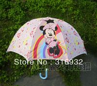 Pink Minnie children umbrella, umbrella kids, 1pc