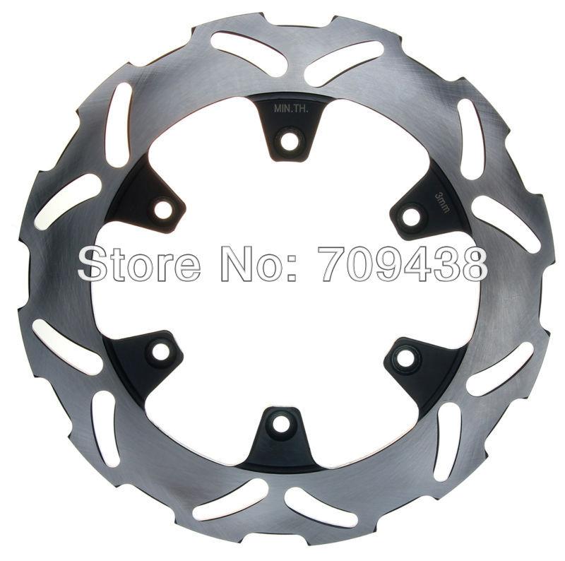 Rear Brake Disc Rotor For KX125/KX250 KX 125 250 1989-2002 KX 500 KX500 1989-2004 1997 1998 1999 2000 2001 2002 2003(China (Mainland))