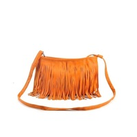 Hot sell small Tassel Shoulder Bag for Women Cross Body Leather Handbags 2013