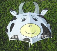 Cute cow cartoon umbrella for kids/ Children, 1pc free shipping