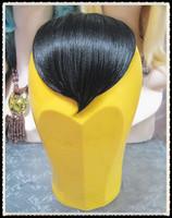 Costume wig wig fringe 9 steel card fringe heart high temperature wire