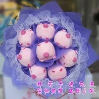 2013 New Gift Free shipping Cartoon bouquet birthday gift girls doll bouquet doll bouquet male female
