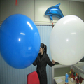 50pcs 36Inch Big Round Latex Balloon Party Wedding Xmas Occasion Decorative Supplies Free Shipping(China (Mainland))