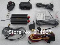 tk-103b gps tracker Shock SENSOR gprs tracker CAR & Truck gps tracking system Cut off Oil/Power System Support 12 languages