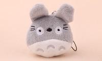 10PCS Mini Japan Totoro Plush TOY Mobile Cell Phone Strap Pendant Charm Strap Lanyard Key Chain; Plush Stuffed TOY DOLL
