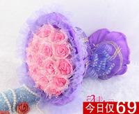 2013 New Gift Free shipping Jiayuan cartoon bouquet the wedding mother day gift birthday girlfriend gifts