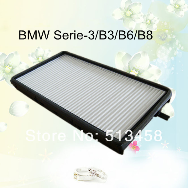 CU2835 low price wholesale white fiber car cabin air filter for BMW 64119069895 auto part 30.3*16.7*2.6cm WIX24784(China (Mainland))