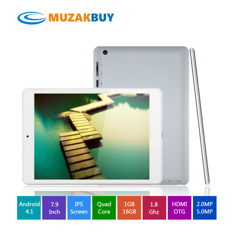 7.9 inch rk3188 quad core mini pad Android 4.1 IPS Wifi Dual Camera HDMI OTG(China (Mainland))