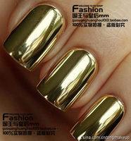 Free shipping 2013 New Fashion Fashion star angelababy metal nail art false nail patch membrane paper  Wholesale