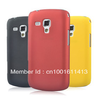 20pcs/lot Rubber Hard cell/mobile phone case for Samsung Galaxy S Duos S7562