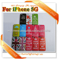 Freeshipping 20pcs/lot Matte Plastic Keep Calm cause I'M sexy hard Cover Cases For iPhone 5