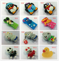 (Pf16) Free Shipping Wholesale Hot Sales 10pcs Cartoon Cute 9 Style Models 4GB 8GB 16GB 32GB USB Flash Drive Thumb/Pen/Car