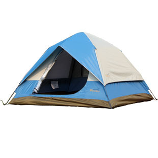 Double layer fully-automatic tent 3 4 hy-230 casual outdoor camping mat(China (Mainland))