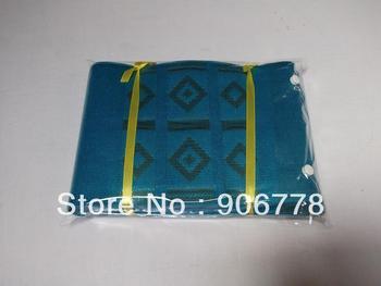 T-blue color African Aso-Oke head tie,Kente aso-oke head wrap,African fashion head accessory,Nigeria women wear