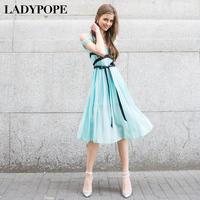 Ladypope2013 spring women's one-piece dress high waist slim one-piece dress 311q091