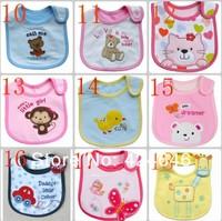 free shipping100% cotton  Baby bib Infant saliva towels carter's Baby Waterproof bib Mark Carter Baby wear 50pcs/lot