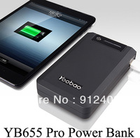 Free shipping New arrival yoobao YB655 Pro power bank 13000mAh , portable power bank !