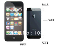 full body 3D Diamond screen protector FOR  iPhone 5 Screen Protector Front & Back 3D Water Cube