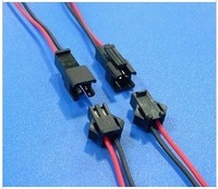 200/lot 10cm/pcs LED connecting wire,  female connector Terminals cable, SMP 22AWG and free ship