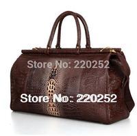 P002 black Tote Crocodile Pattern Bag,Crocodile Handbag,Travel Duffel Bags,Designer Duffle Bag,Traveling Luggage, women handbag