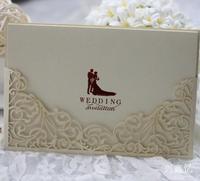 Wedding invitation western-style wedding supplies cutout invitation card wedding cardpersonality invitation