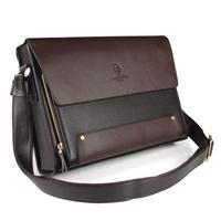 2013 New arrival fashion men handbags, men  leather messenger bag, high quality man brand business shoulder bag,Briefcase