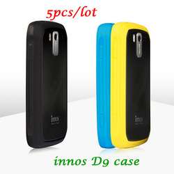 Free shipping 2013 Innos d9 mobile phone protective case silica gel shell phone case(China (Mainland))