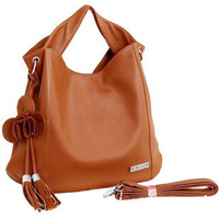 Fashion women's handbag 2012 flower tassel bag portable women's handbag shoulder bag work bag
