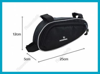 High Quality Folding Cycling Bike Bicycle Pack Bag Jacquard Fabrics Material Black Free Shipping