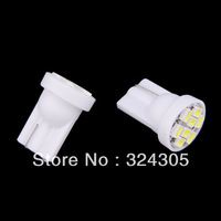 2X T10 W5W  501 LED  Inverted Side Wedge car lamp bulbs door Interior Map clearance lights white
