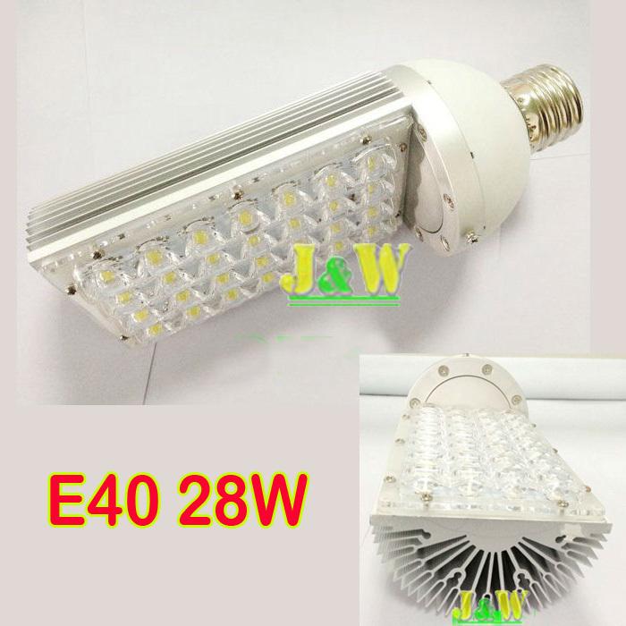 E40 28W LED street light,Bridgelux replace150W Metal Halide Lamp AC110V,220V, 230V Free Shipping(China (Mainland))