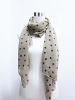 Long scarf Dot chiffon scarf elegant shawl 175*75cm 3 colors, fashion woman scarf accessory, free shipping