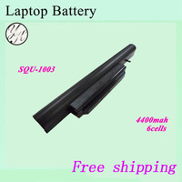 New Replacement laptop battery  For Hasee  SQU-1003 916T2132 CQB913 3UR18650-2-T0681 CQB9123I