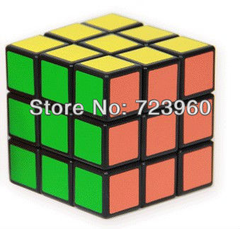Free shipping part of the countries,2013 Hot and Brand New 3x3 Magic Cube Toy Puzzle Game Gift