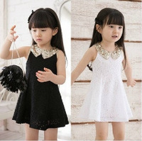 Clothing female child 2013 summer one-piece dress baby summer suspender dress tank dress