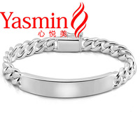 Hot European and American punk pure male models bracelet free shipping 925 sterling silver men's bracelet