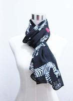 zebra love heart pattern fashion woman scarf accessory, black white, soft chiffion, spring scarf shawl woman free shipping