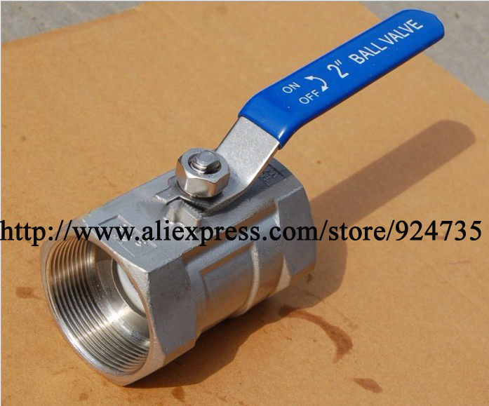 Low Price Ball Valve, 1pc Inner Threaded, Stainless Steel 304, 201, BSP Connecting(China (Mainland))