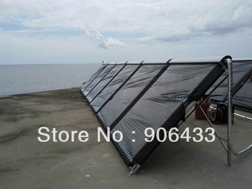 Free shipping/240L/24tubes/heat pipe solar water heater/solar collector/hot water heater/Split pressurized /Solar Panel(China (Mainland))