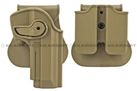 IMI defense pistol and magazine holster for M92 Airsoft (Tan)  free shipping