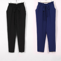 2013 summer plus size casual pants trousers slim pants harem pants