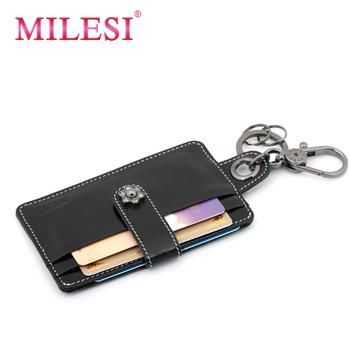2012 unisex cowhide card case clip sim card case car card bus card case mp093