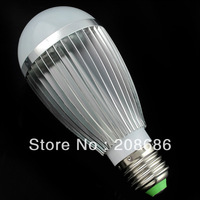 Free shipping E27 7W Warm White Bubble Ball Globe Light Bulbs LED Lamps Bright BES07W0059 AC 90-260V