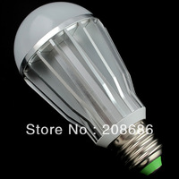 AC 90-260V E27 7W Warm White Bubble Ball Globe Light Bulbs LED Lamps Bright Free Shipping Hot Wholesale BES07W0058